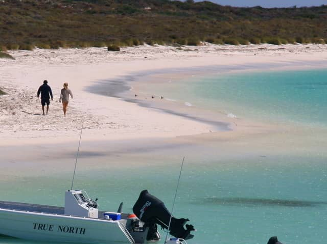 World's most remote beaches a dinghy ride away