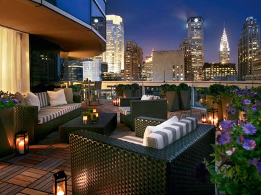 Big Apple's hot hotels