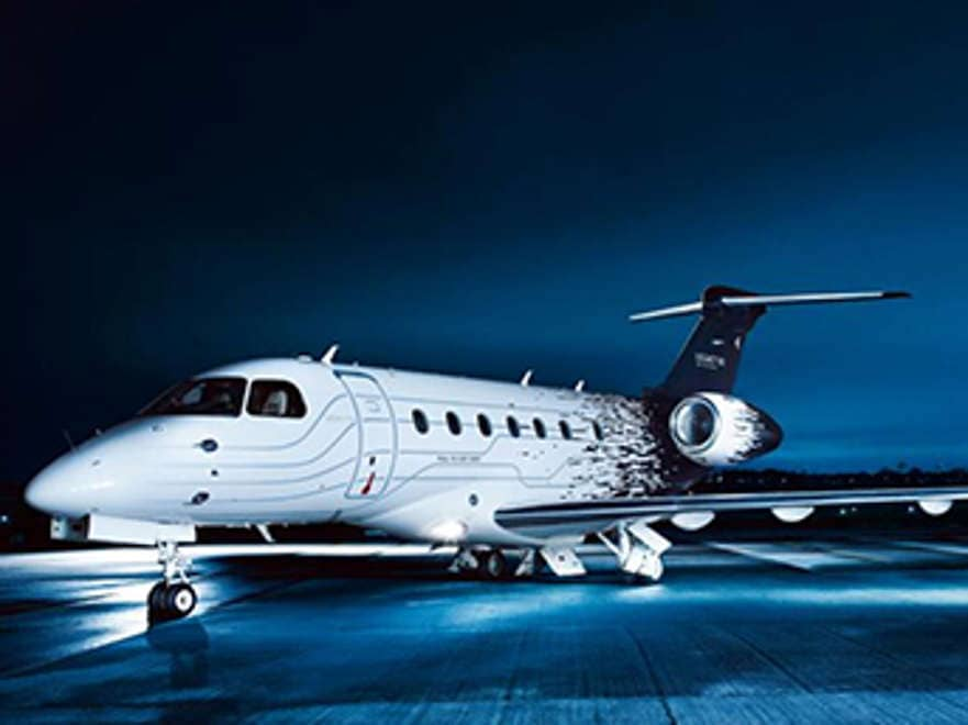 Down-to-Earth cost of flying by private jet
