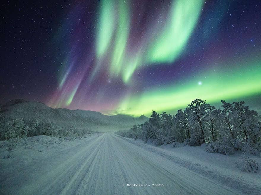 Northern Lights in the lap of luxury
