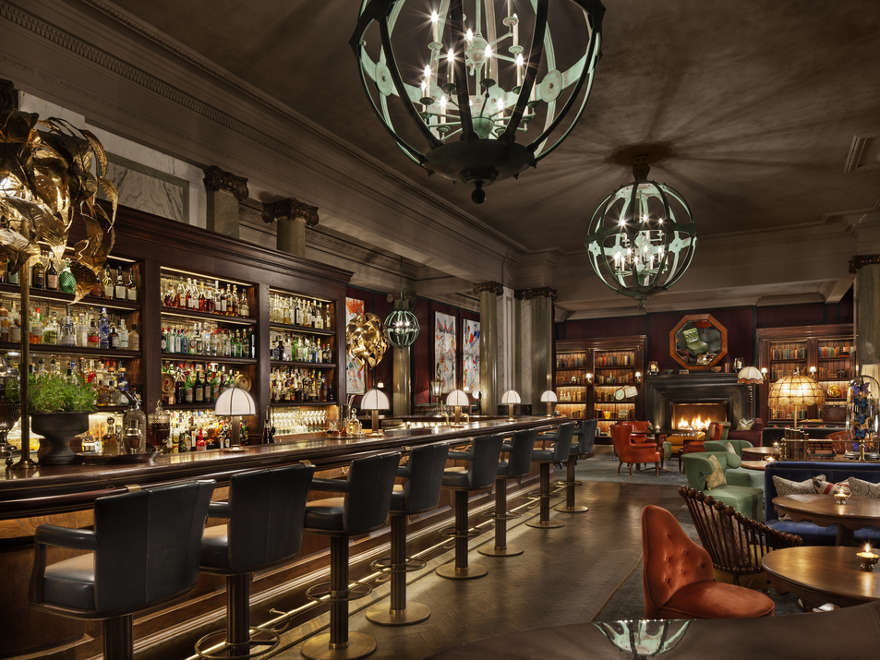 The Rosewood London's cool, classy sophistication