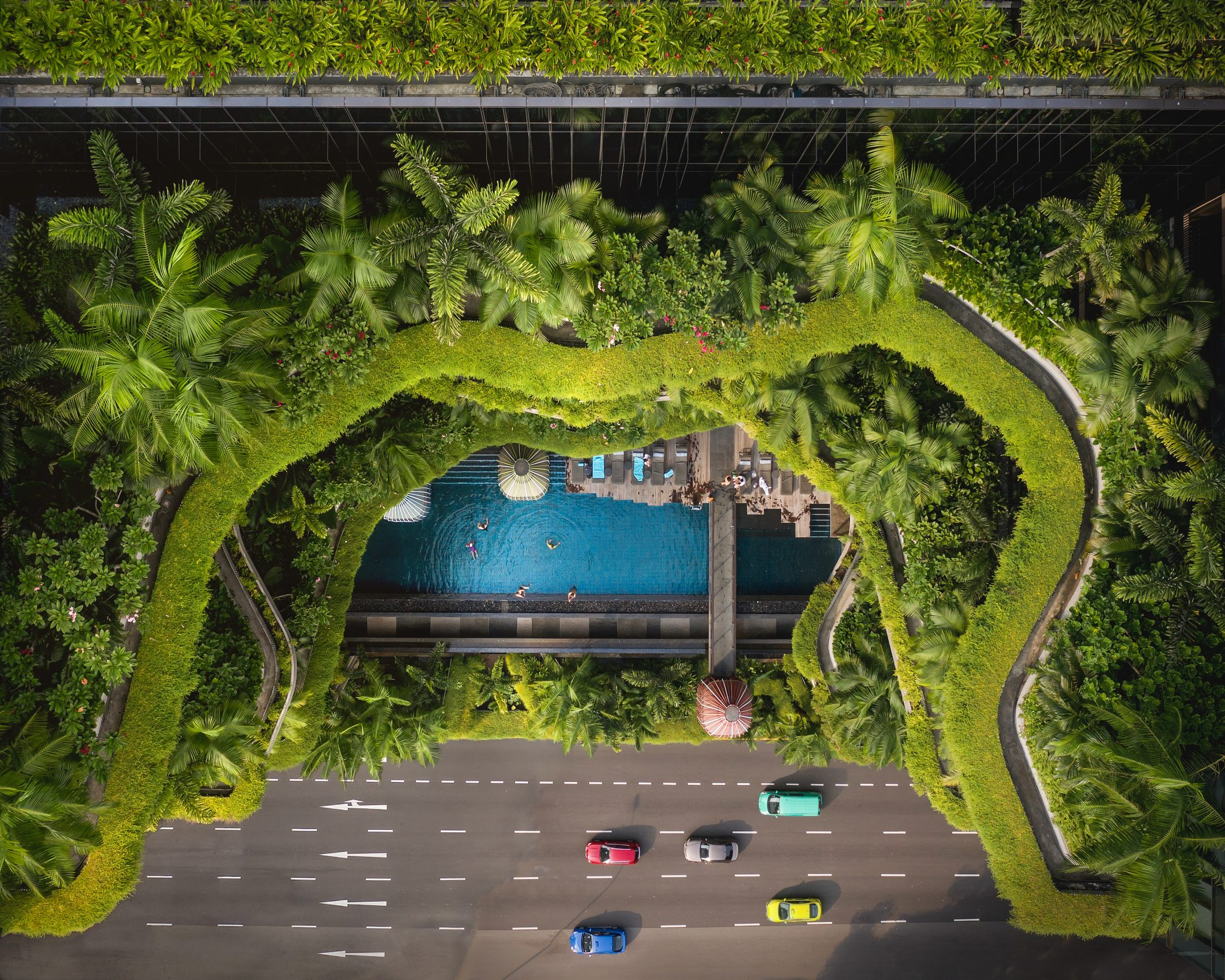 Parkroyal's sustainable Singapore oasis